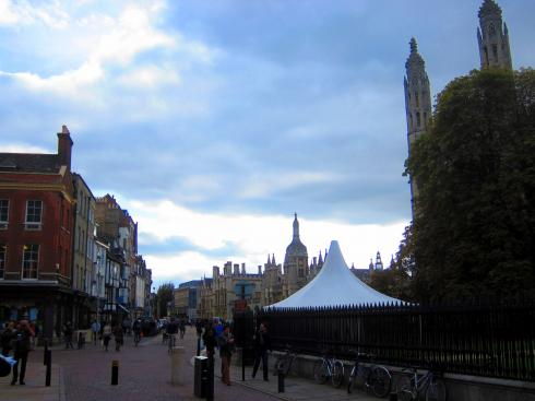 King's Parade - the heart of Cambridge